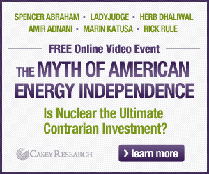 Casey Research Energy Independence
