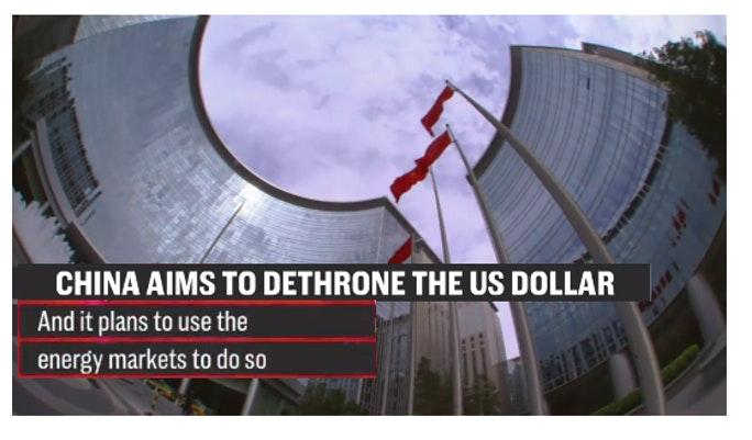 China dethrone us dollar