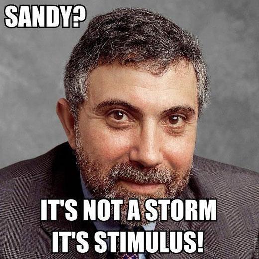 sandy krugman meme
