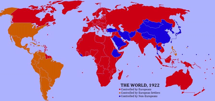 world in 1922