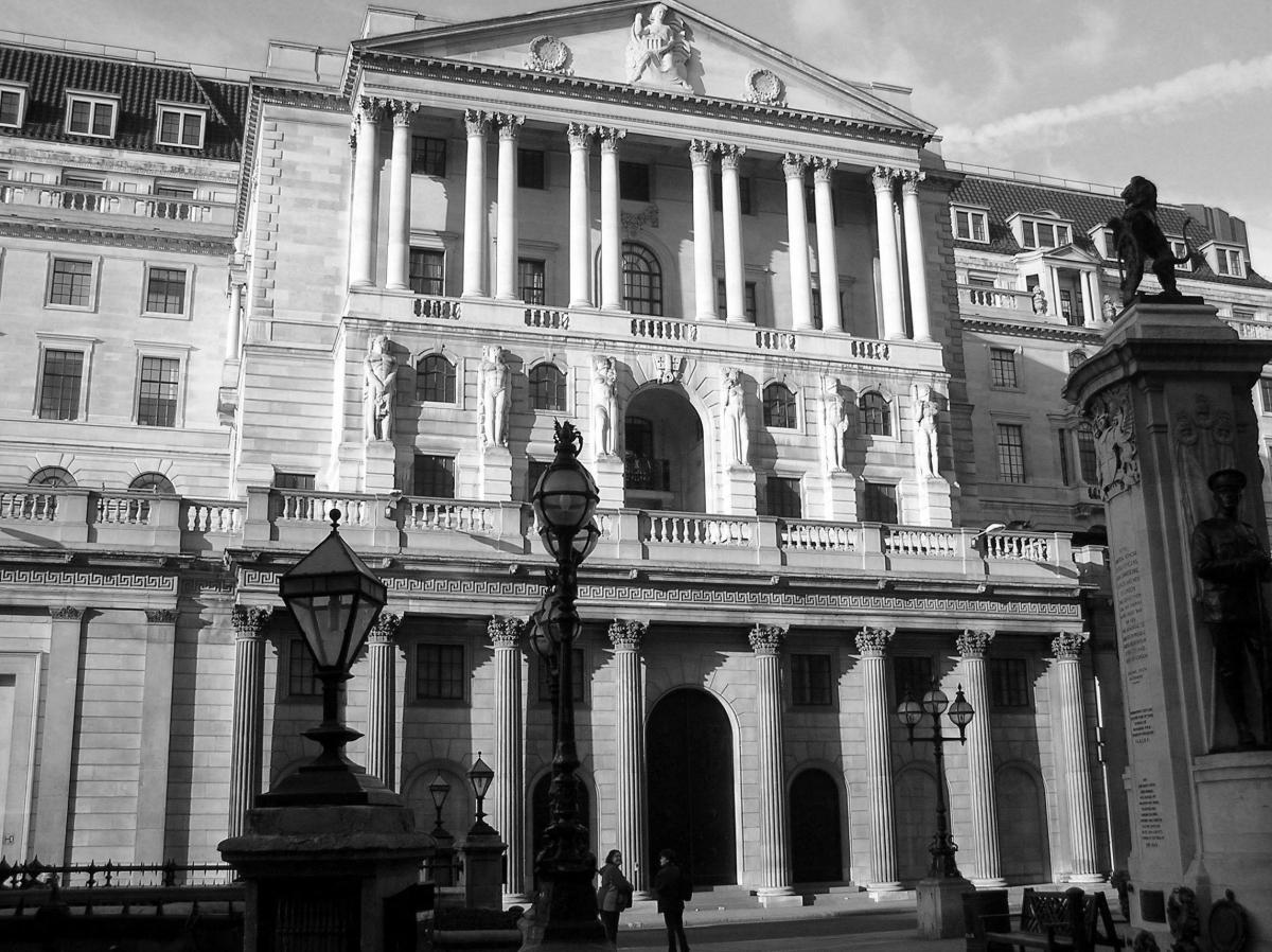 bank of england est. 1694