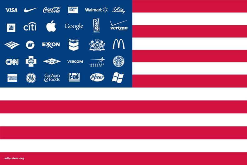 u.s. corporation flag