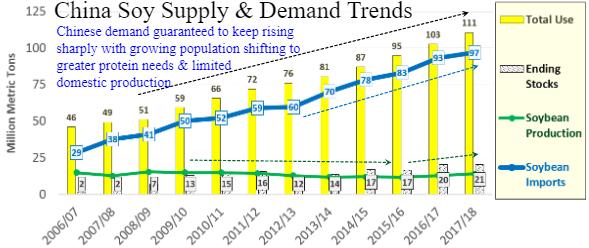 china soy demand