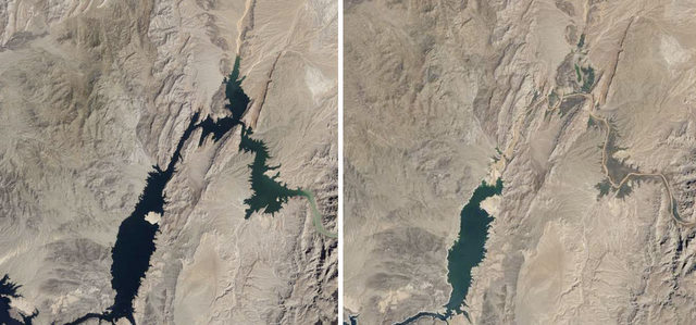 lake mead 1985 and 2011