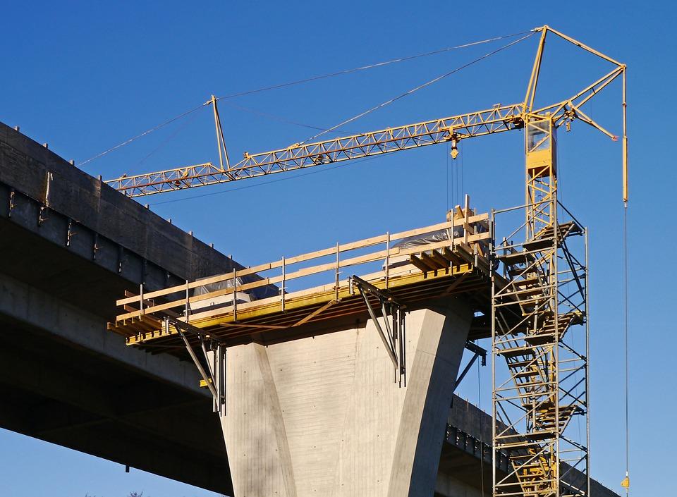 bridge under construction