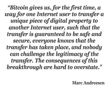 andreesen bitcoin