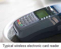 wireless electronic reader