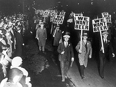 we want beer old photograph